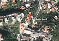 Mapa de situación sede COAAT en El Hierro