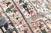 Mapa de situación de la sede del COAAT en La Palma