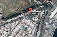 Mapa de situación COAAT sede Santa Cruz de Tenerife